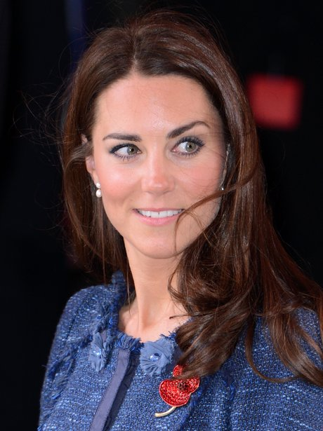 The Duchess Of Cambridge S Poppy Will And Kate At The