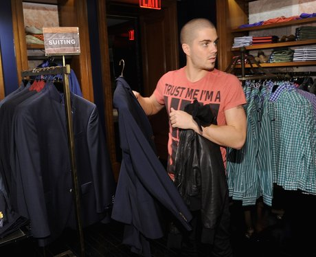 The Wanted go shopping