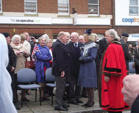 Duchess of Cornwall in Thame