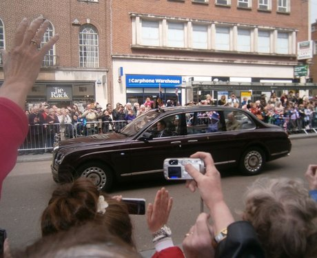 HRH Queen visits Exeter