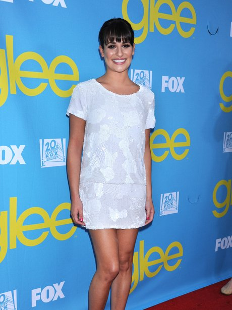 Lea Michele on the red carpet
