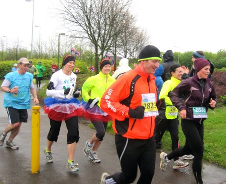 MK Marathon Out on the Course