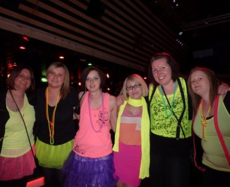 Rob & Chrissie's 80's Night Apr 2012