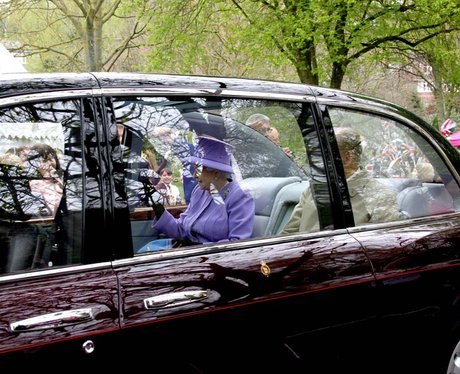 The Queen visits Yeovil