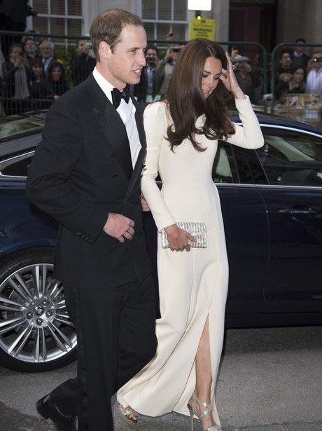 Duke and Duchess of Cambridge at Claridge's
