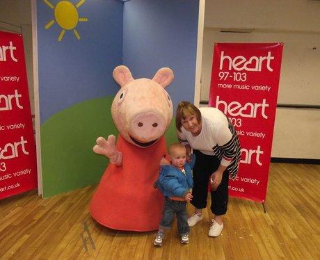 Peppa Pig at Princess Square