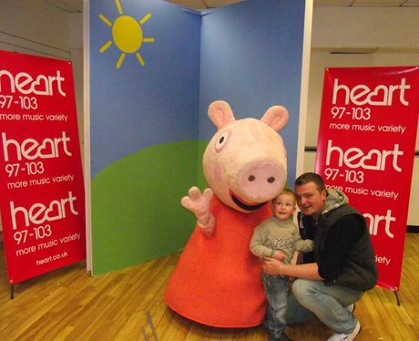 Peppa Pig at Princess Square