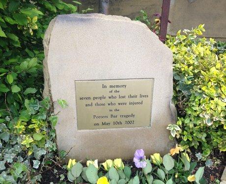 Potters Bar 10 Year Anniversary Memorial