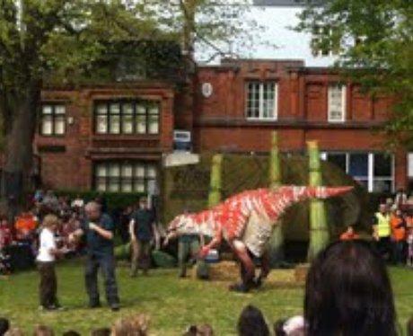 Dinosaur Petting Zoo