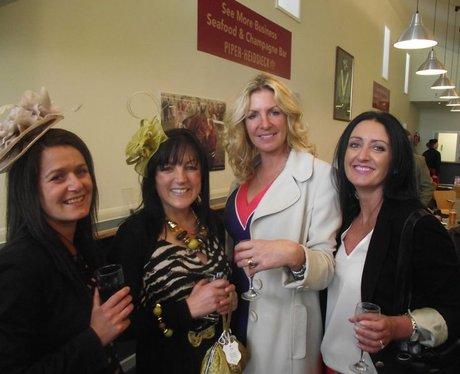 Heart at Wincanton Ladies Day