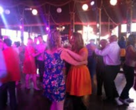 Holly & Angie At The Tea Dance