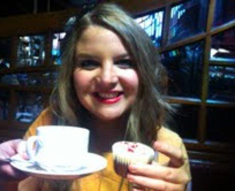 Holly Enjoying Tea At The Tea Dance