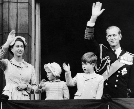 1954: A Family Balcony Moment