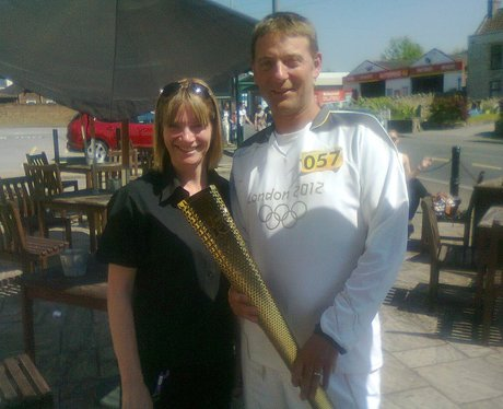 Olympic torch in Wiltshire - your photos