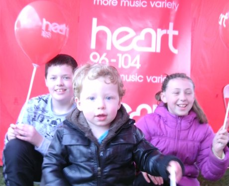 The Heart Angels were at the Bretton & Broughton C