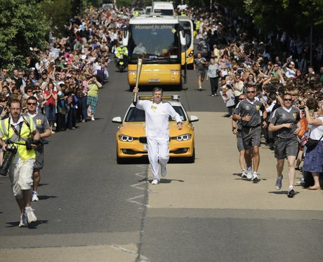 Olympic Flame in Chippenham - 1