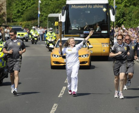 Olympic Flame in Chippenham - 9
