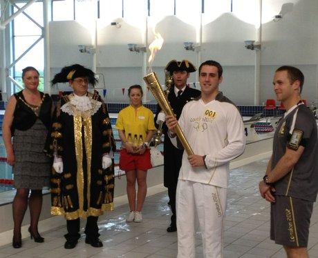 Day 2 torch relay in Devon