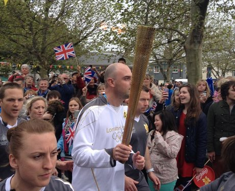 6000 came to see the torch