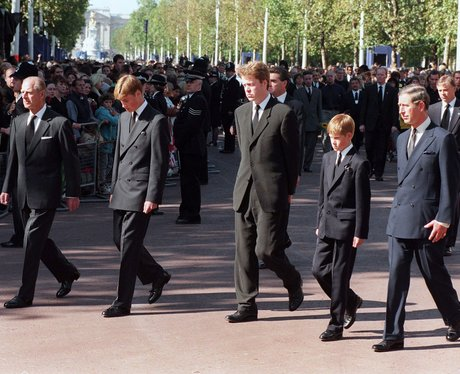 1997: Diana's Funeral Procession