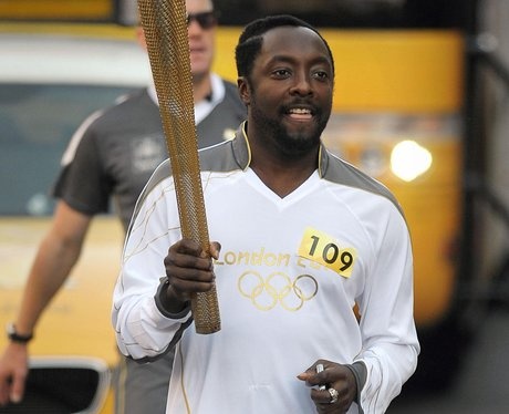 Will.i.am Olympic torch