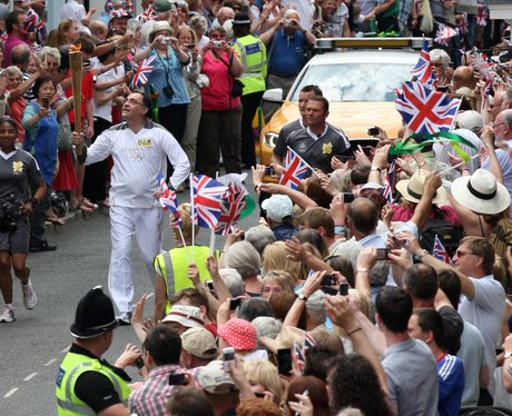 The Olympic Torch Relay Day 12: Shrewsbury to Stafford