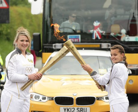 Day 12 Olympic Torch Relay