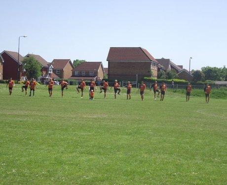 Have A Heart Football Match