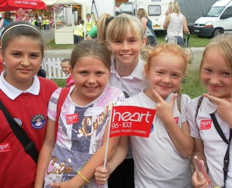 Heart at the Royal Bath & West Show Wednesday