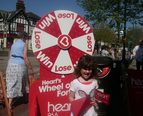 Heart's Winning Wheel at Wenzels