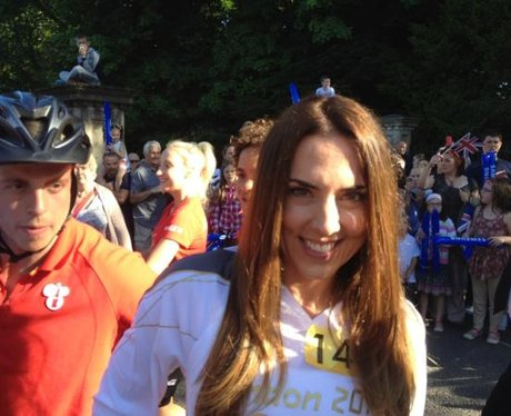 Melanie C ready to carry the Torch in Birkenhead