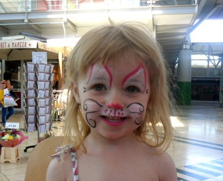 Midnight Moo Face Painting