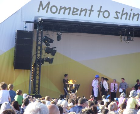 Olympic torch arrives in Chester