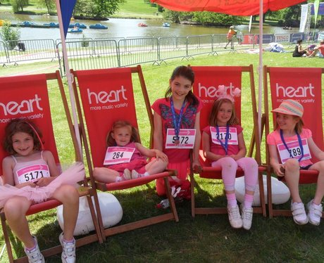 Race For Life 2012 Tunbridge Wells: The Medals