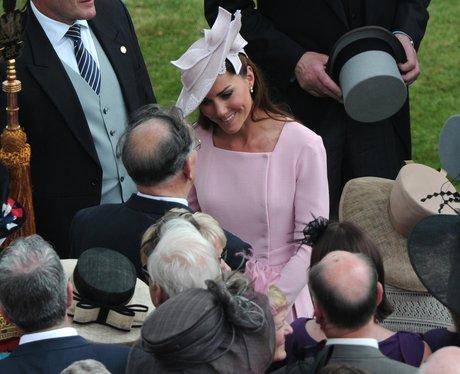 The Duchess of Cambridge mingles