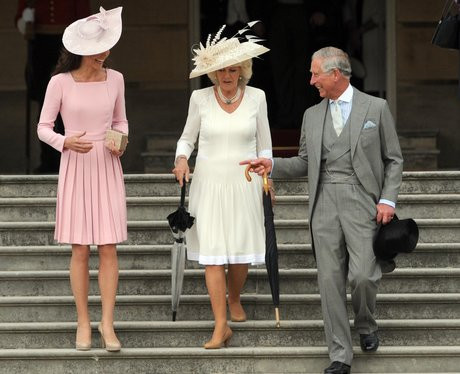 Kate Middleton, Prince Charles and Camilla arrive