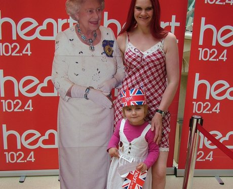 The Queen at the Mall Norwich