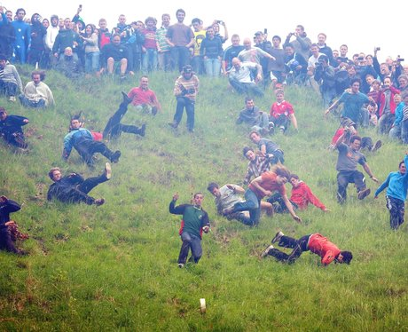 Cheese Rolling in Gloucestershire 2012