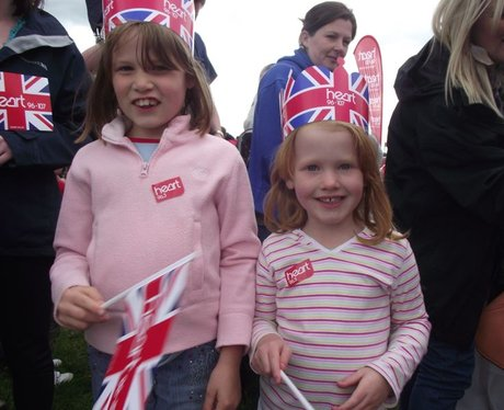 Heart at Diamond Jubilee on The Downs