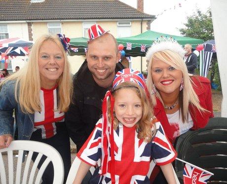 Jubilee party in Burgess Road, Aylesham
