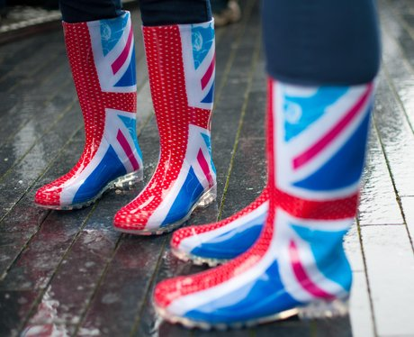 Union Jack wellies