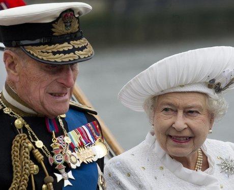 The Queen's dress