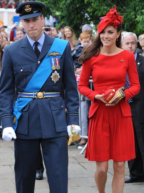 Prince William's uniform