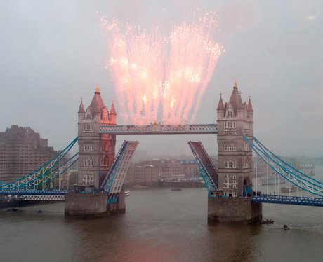 Tower Bridge fireworks