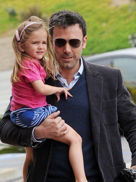 Ben Affleck and daughter Seraphina