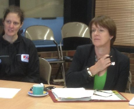 Caroline Spellman talks to Emergency Services