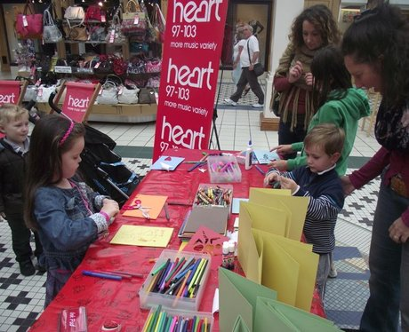 Father's Day Creation Station at Camberley Mall