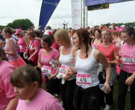 Gillingham Race For Life - The Race!