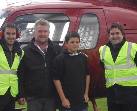 Helicopter Flight Winners!