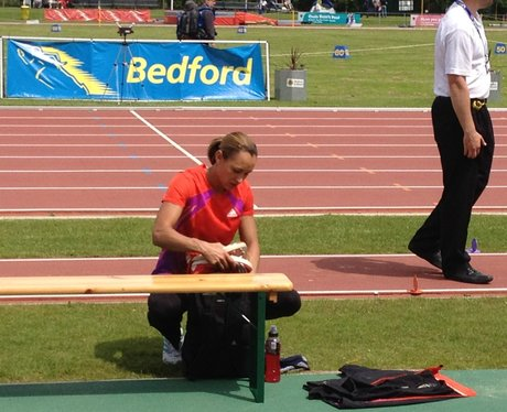 Jessica Ennis At BIG 2012